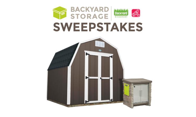 Backyard Storage Giveaway From Step2 & Backyard Discovery