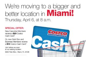 Welcome To The Neighborhood Costco Miami!