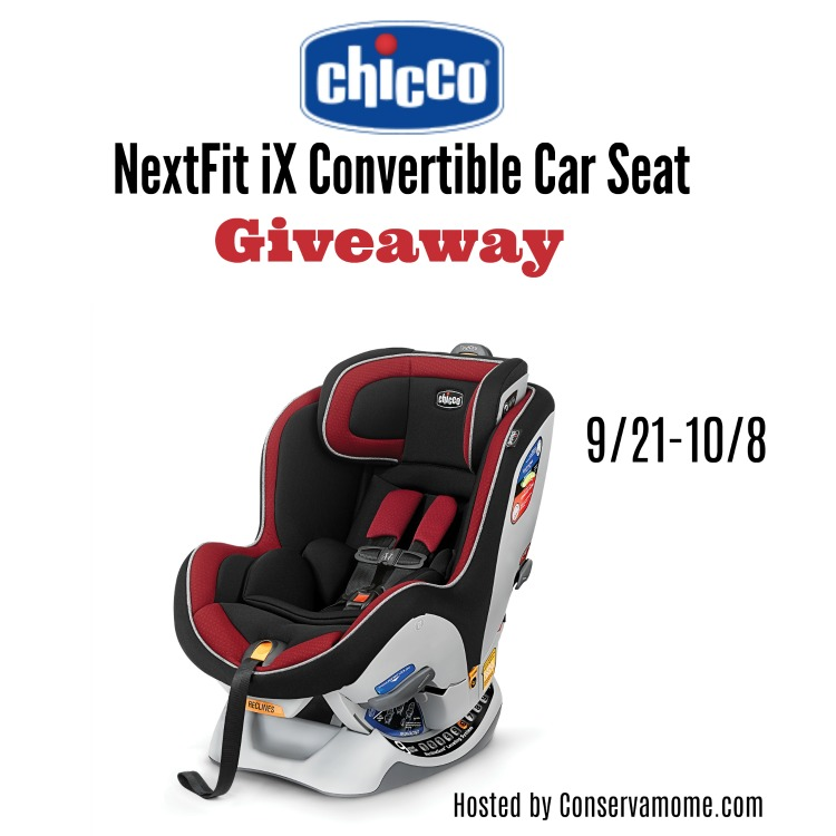 Child Passenger Safety Week Chicco NextFit iX Giveaway