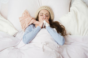 Can A Mommy Afford To Get The Flu?