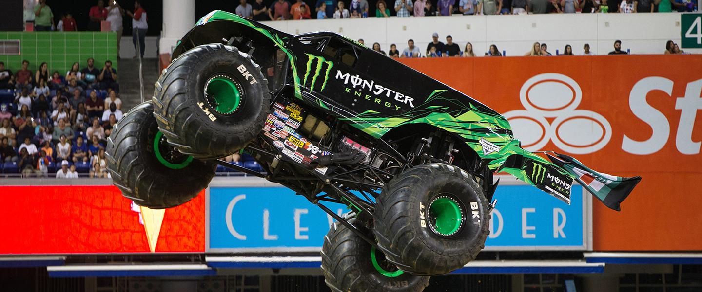 Monster Jam Miami Marlins Park